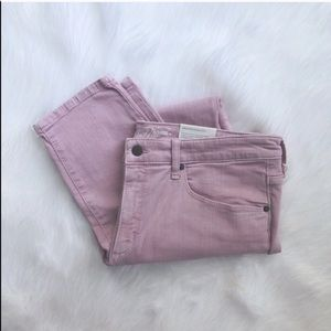Plus // Blush Pink Color Pop Skinny Jeans